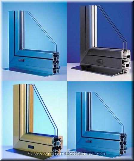 Cerramientos de aluminio y pvc puertas aluminio puertas for Perfiles de aluminio para toldos de palilleria